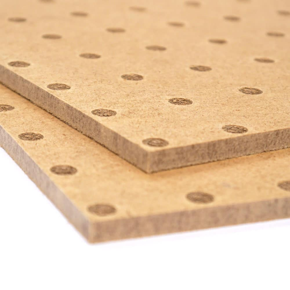 We offer MDF Pegboard cut to size