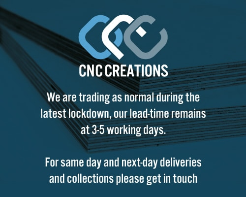 We are trading as normal during the latest lockdown, our lead-time remains at 3-5 working days.
