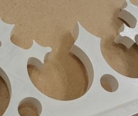 CNC Decorative Fascia boards