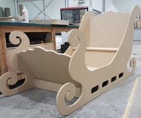CNC Prototype MDF Sledge