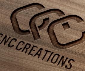 CNC logo engrave