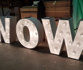 CNC wedding letters