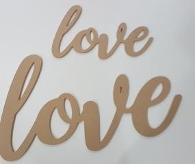 CNC Cut Love