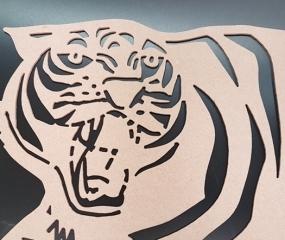 MDF CNC Tiger
